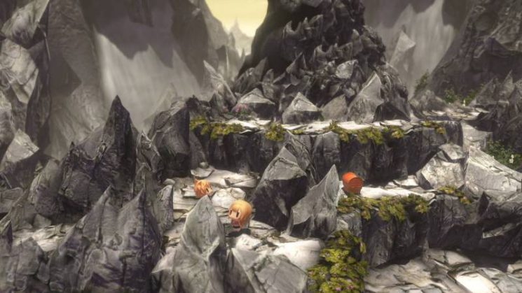 World of Final Fantasy -Décors de montagne