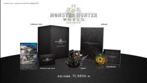 Collector Monster Hunter World PS4